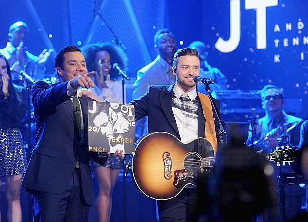 "Justin Timberlake Visit ""The Tonight Show Starring Jimmy Fallon"""