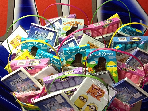 Easter baskets from Mix 93-1