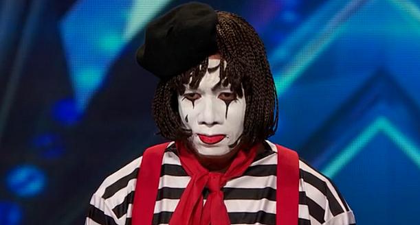 America's Got Talent Mime