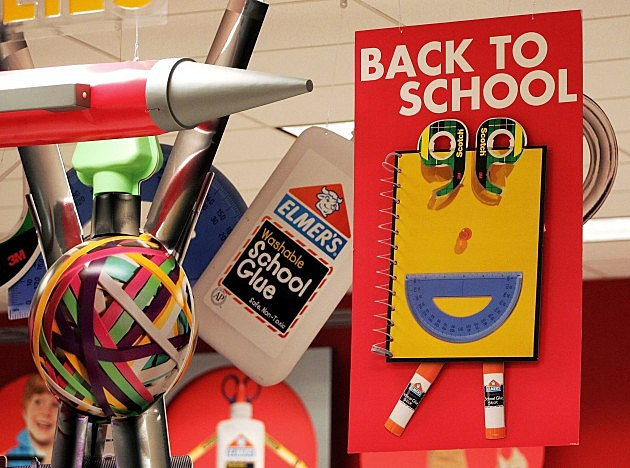 Parents Begin Back-To-School Shopping