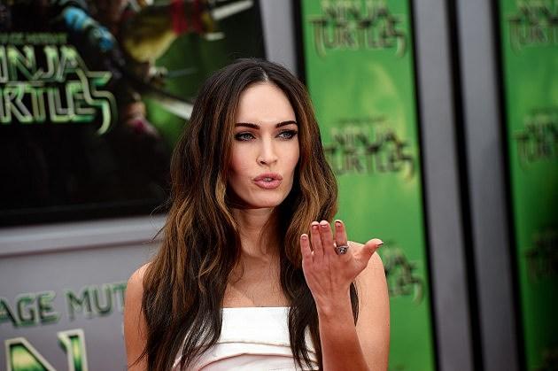"Megan Fox At Premiere Of Paramount Pictures' ""Teenage Mutant Ninja Turtles"" - Red Carpet"