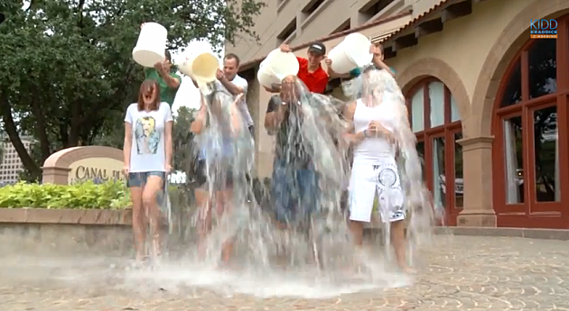 Kidd Kraddick Morning Show accepts ice bucket challenge