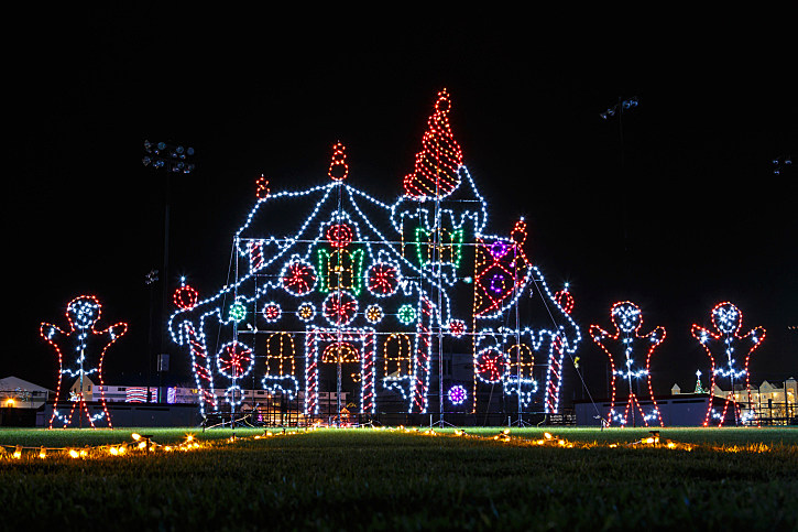 drive thru christmas lights parks in east texas