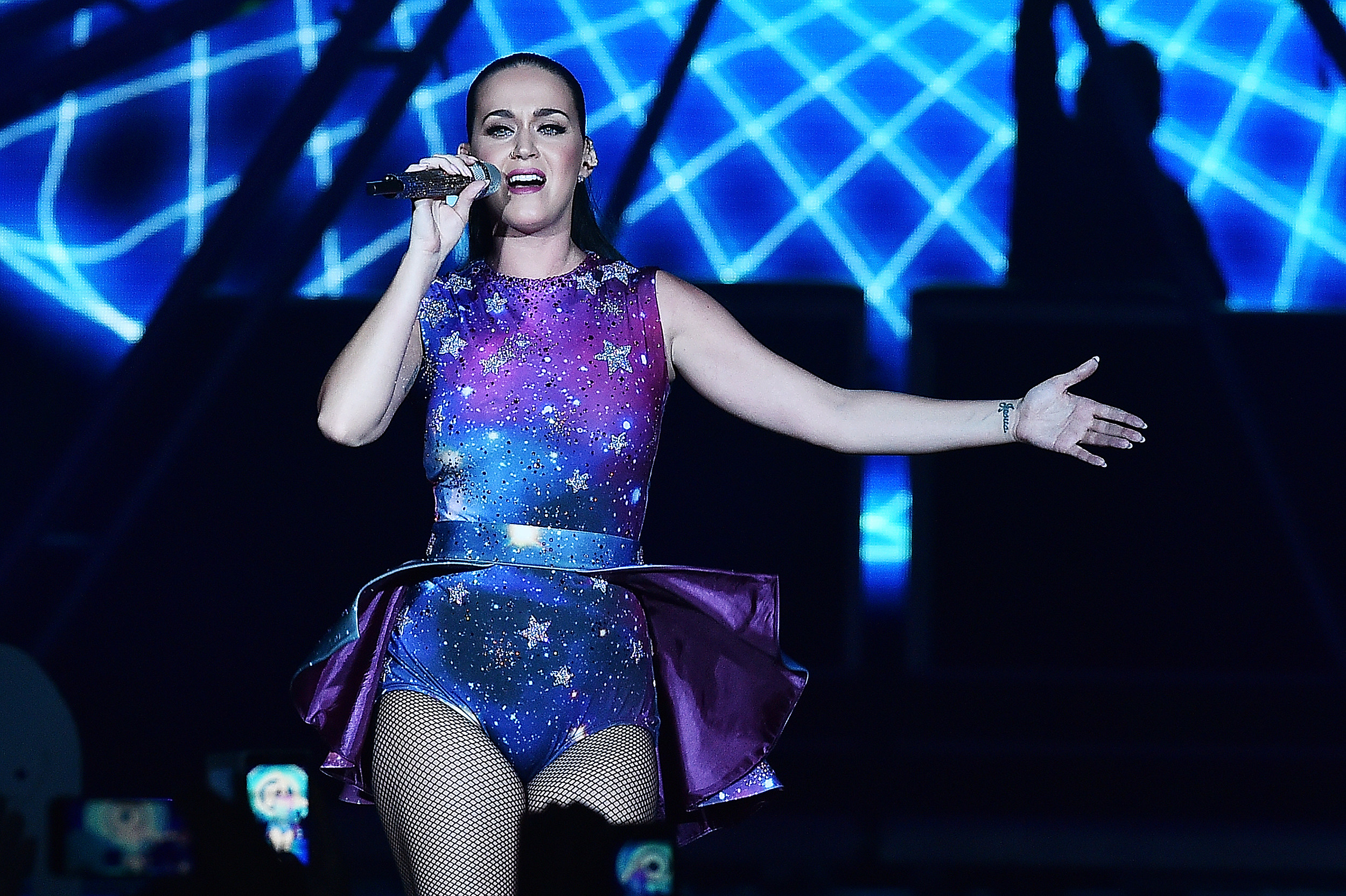 Katy Perry Debuts Christmas \'Onesies\'