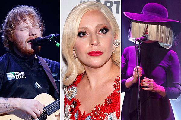 Calendar Sia : Sia ed sheeran lady gaga others to release albums in