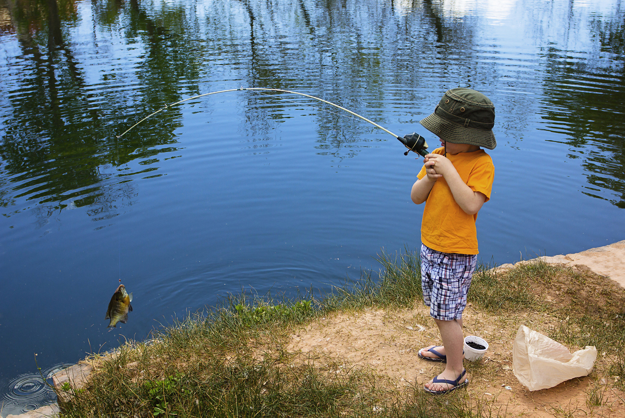 Kid fish derby at teague park set for feb 20 for Kids fishing net