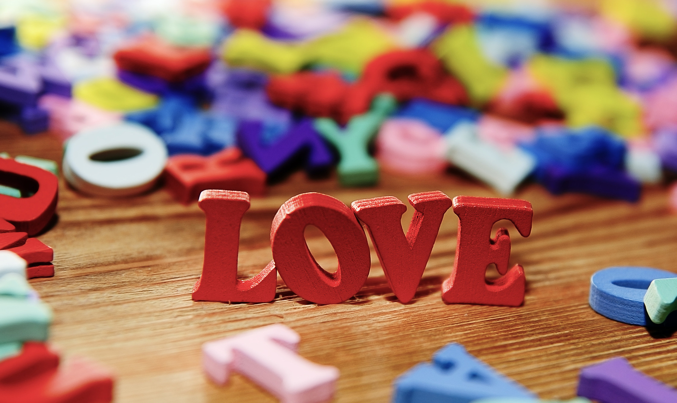Love   letters      wood