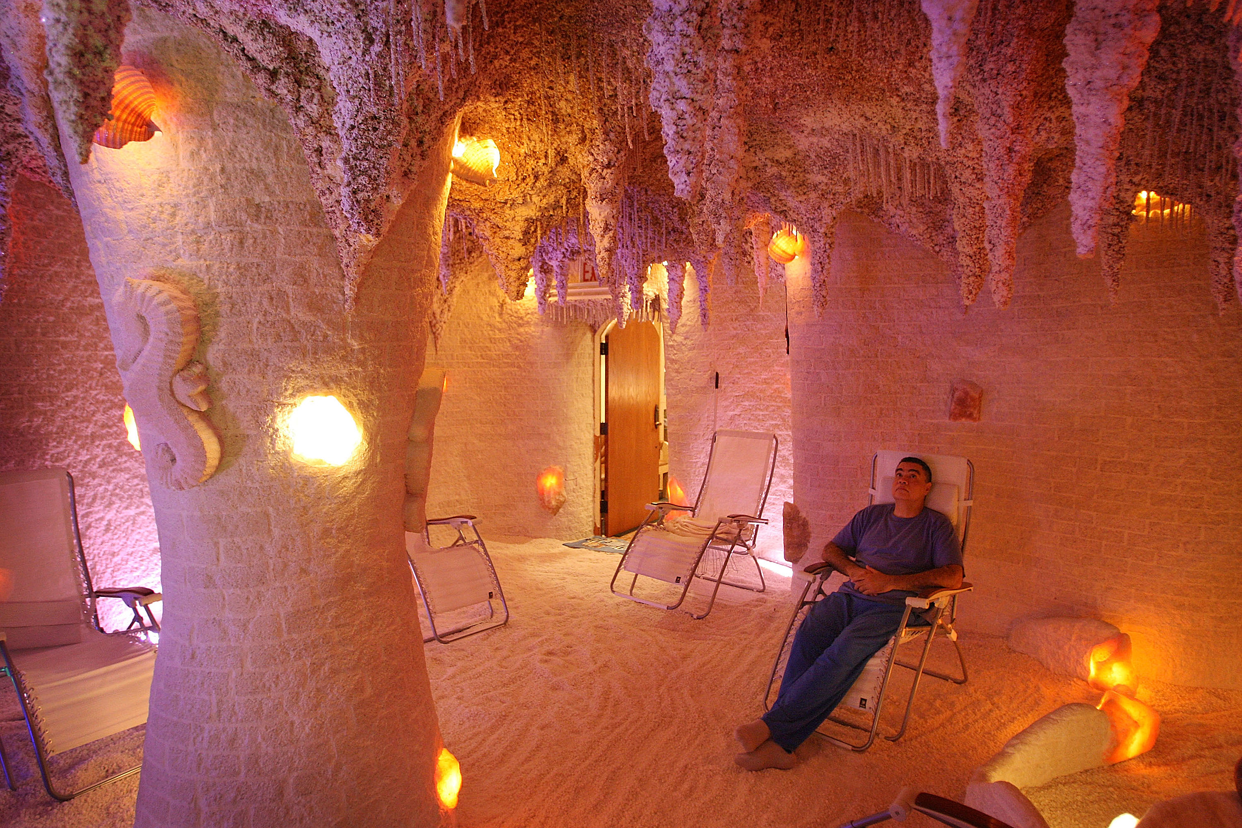 Man Made Salt Caves Offer Traditional Eastern European Salt Therapy