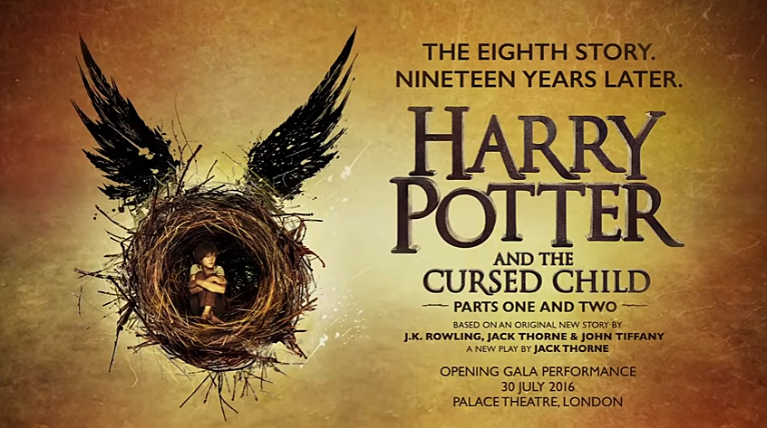 Harry Potter and the Cursed Child via YouTube