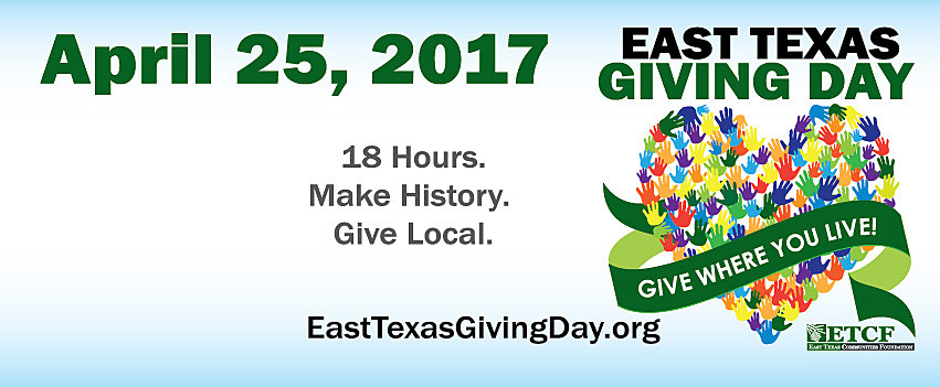 East Texas Communities Foundation via Facebook
