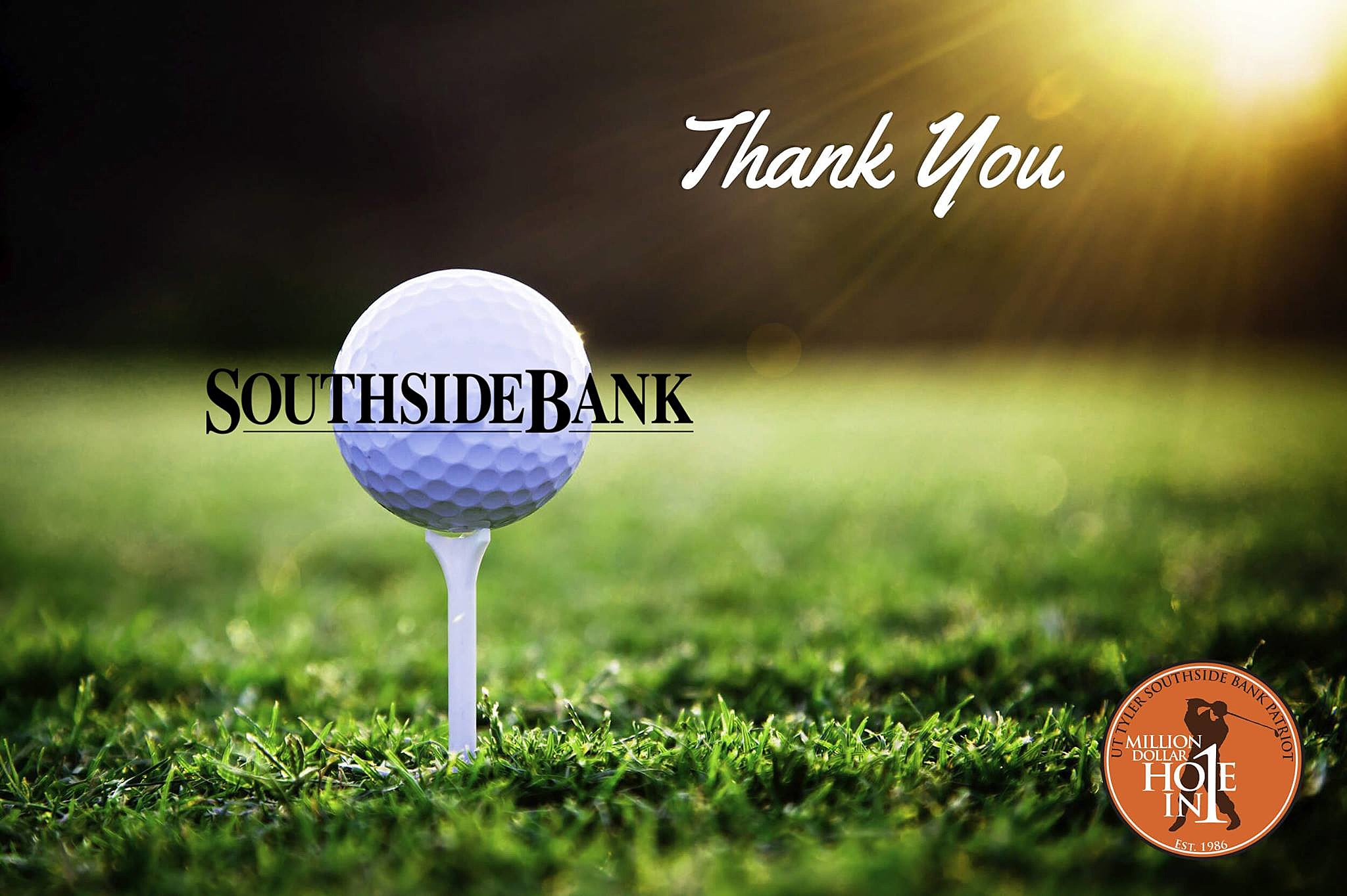 UT Tyler Southside Bank Patriot Million Dollar Hole-in-One Contest