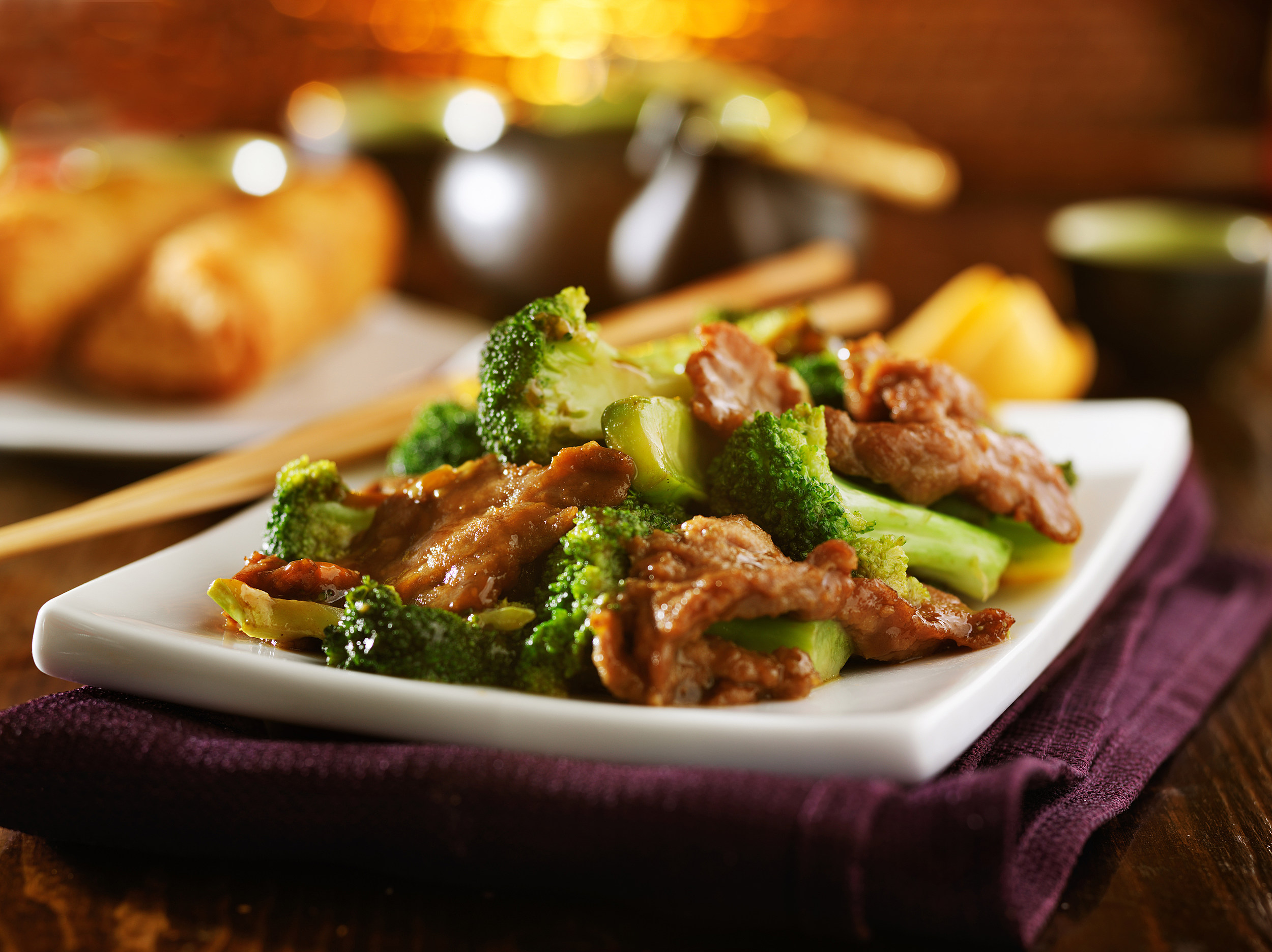 beef and broccoli chinese stirfry