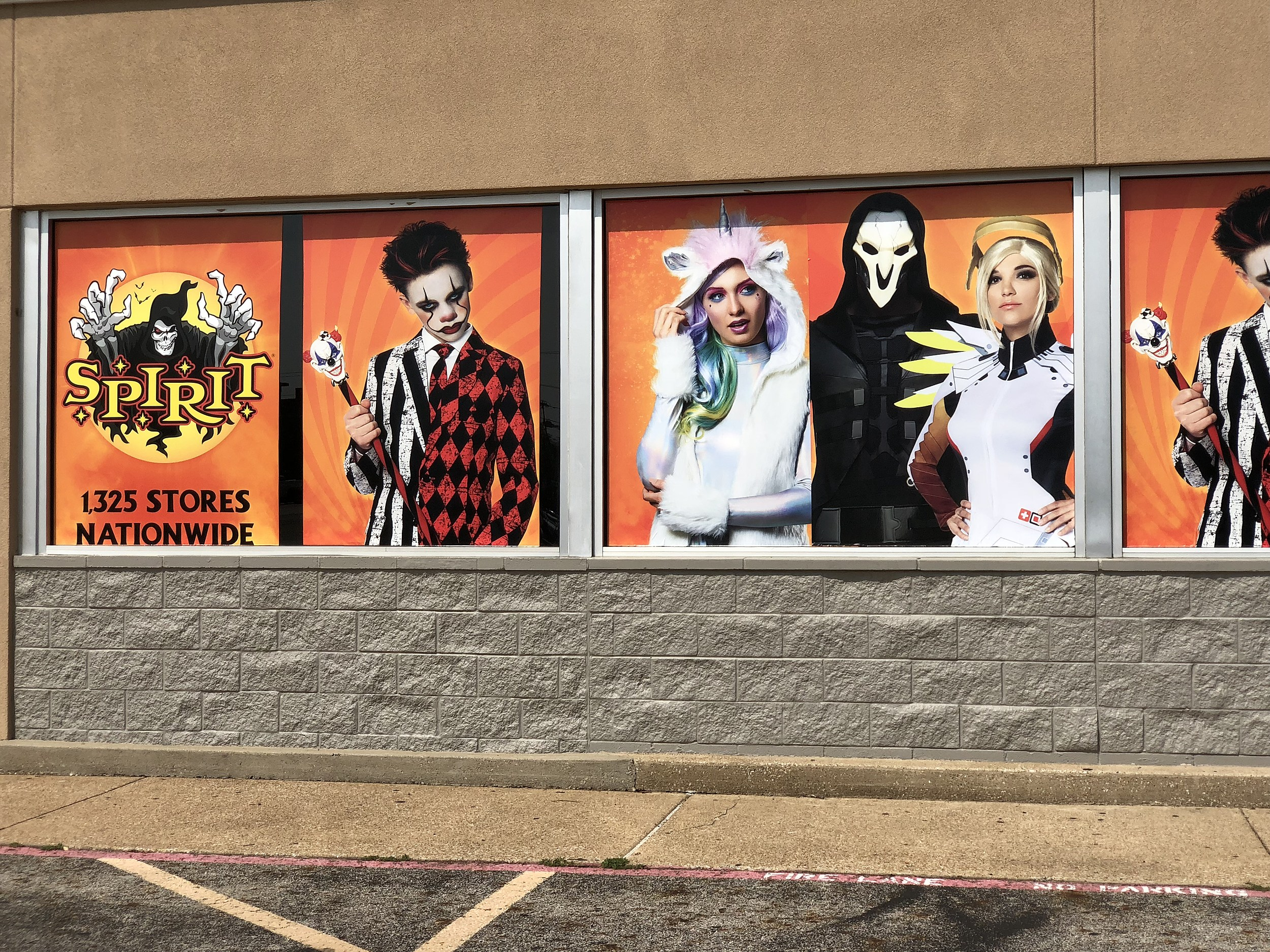 spirit halloween takes over former east texas toys r us s